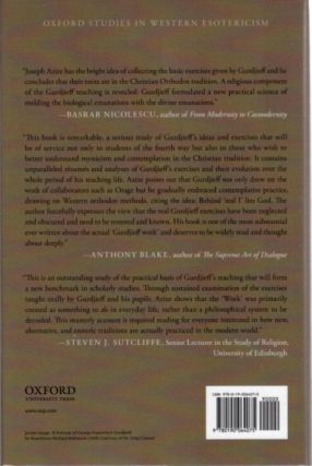 GURDJIEFF; Mysticism, Contemplation, and Exercises