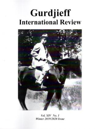 NATURE: GIR VOL XIV, NO. 1; Gurdjieff International Review