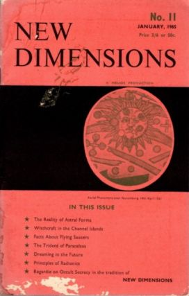 NEW DIMENSIONS: VOLUME 2, NO. 11, JANUARY 1965. Basil Wilby