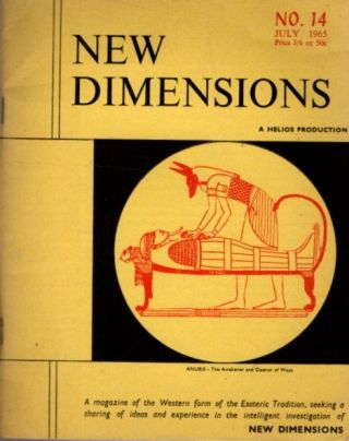 NEW DIMENSIONS: VOLUME 3, NO. 14, JUNE/JULY 1965. Basil Wilby