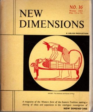NEW DIMENSIONS: VOLUME 3, NO. 16, WINTER 1965. Basil Wilby