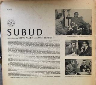 WHAT IS SUBUD?: A Discussion between Jon Bennett and Steve Allen