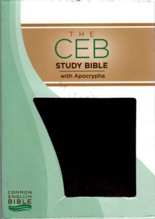 THE CEB STUDY BIBLE WITH APOCRYPHA.
