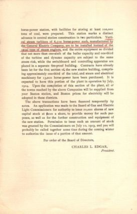 REPORT OF THE BOARD OF DIRECTORS TO THE STOCKHOLDERS AT THEIR EIGHTEENTH ANNUAL MEETING, OCTOBER 13, 1903: Restored by the Sacred Council of Trent, Published by Order of the Supreme Pontiff St. Pius V and Carefully Revised by Other Popes