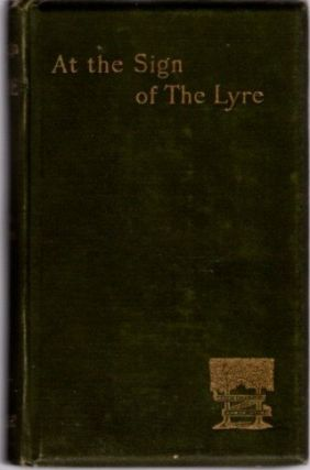 AT THE SIGN OF THE LYRE. Austin Dobson