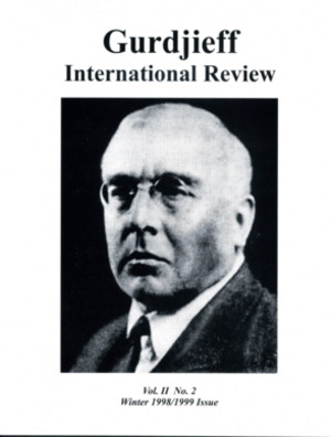 P.D. OUSPENSKY: GIR VOL II, #2, WINTER 98-99.: Gurdjieff International Review