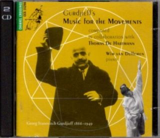 GURDJIEFF'S MUSIC FOR THE MOVEMENTS. Gurdjieff/De Hartmann music, piano Wim vann Dullemen.