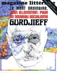 MAGAZINE LITTÉRAIRE, DECEMBER 1977, NO 131 (SPECIAL ISSUE ON GURDJIEFF). Jean-Jacques Brochier,...
